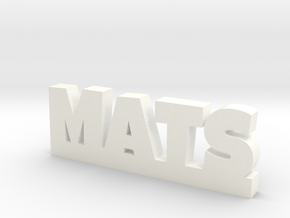 MATS Lucky in White Processed Versatile Plastic