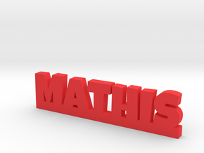 MATHIS Lucky in Red Processed Versatile Plastic