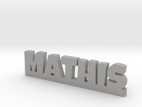 MATHIS Lucky in Aluminum
