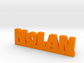 NOLAN Lucky in Orange Processed Versatile Plastic
