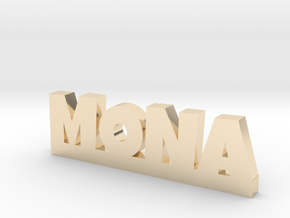 MONA Lucky in 14k Gold Plated Brass