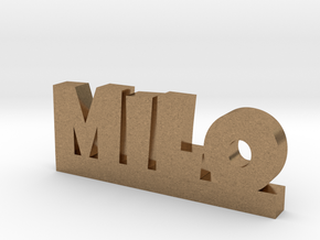 MILO Lucky in Natural Brass