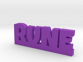RUNE Lucky in Purple Processed Versatile Plastic