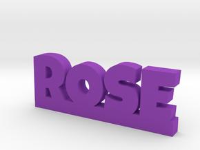 ROSE Lucky in Purple Processed Versatile Plastic
