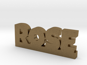ROSE Lucky in Natural Bronze