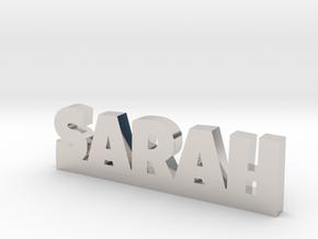 SARAH Lucky in Platinum