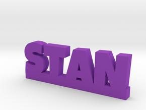 STAN Lucky in Purple Processed Versatile Plastic