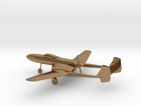 Vultee XP-54 Swoose Goose in Natural Brass: 1:200