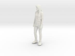 Printle C Femme 045 - 1/64 - wob in White Natural Versatile Plastic