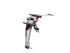 V19 Torrent B-wing style mount 1/270 in Smoothest Fine Detail Plastic