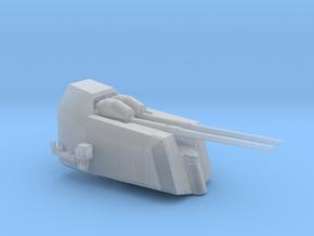 1/100 DKM Flak 10.5 cm SK C/37 in Smooth Fine Detail Plastic