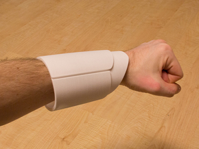 Iron Man Mark IV/VI Wrist Armor (2 Parts) in White Natural Versatile Plastic