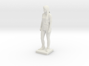 Printle C Femme 047 - 1/18 in White Natural Versatile Plastic
