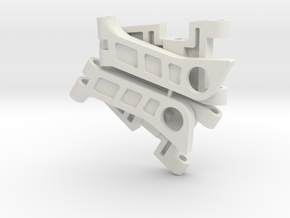 959-Front-arms in White Natural Versatile Plastic