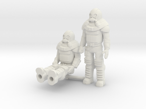 Bruce Sato 2-pack, 35mm Minis in White Natural Versatile Plastic