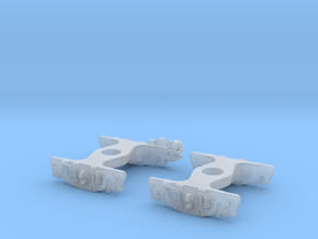N Scale UP Roller Bearing Q TRUCK 2PK w/Generator in Smoothest Fine Detail Plastic
