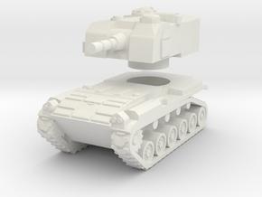 1/144 M52 105mm Self-Propellef Howitzer in White Natural Versatile Plastic