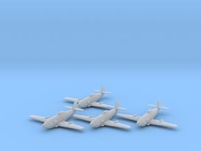 Messerschmitt Me 309 1:200 x4 FUD in Smooth Fine Detail Plastic