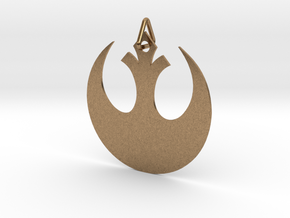 Alliance Star Bird in Natural Brass (Interlocking Parts)