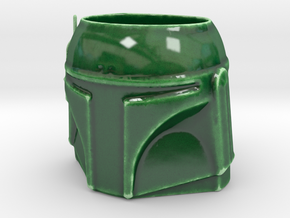 Boba Fett Coffee Mug in Gloss Oribe Green Porcelain