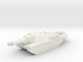 SU-152 Zveroboi KEYCHAIN in White Natural Versatile Plastic