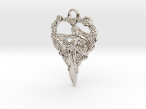 Maiden-of-the-heart-pendant-valentines-comp-entry- in Rhodium Plated Brass
