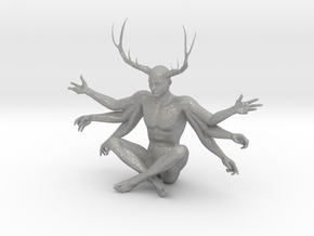 38mm Six Armed Stag in Aluminum