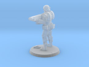 36mm Heavy Armor Trooper 2 in Smooth Fine Detail Plastic