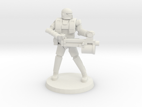 36mm Heavy Armor Heavy Weapon in White Natural Versatile Plastic