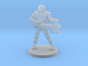 36mm Heavy Armor Heavy Weapon in Smooth Fine Detail Plastic