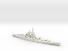 Richelieu battleship in White Strong & Flexible