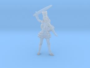 Elf Noblewoman Mini 54mm in Smooth Fine Detail Plastic