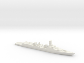 INS Kolkata 1:700 in White Natural Versatile Plastic
