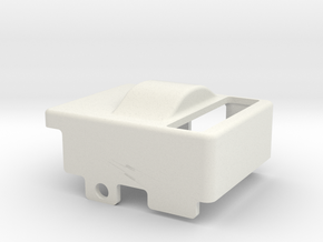 Cable Cover Cetus3D adapter for the Nimble in White Natural Versatile Plastic