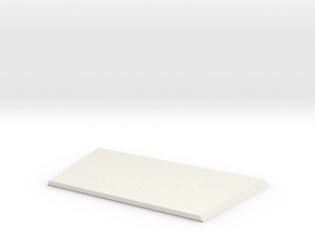 High bonnet new model D90 1:18 Gelande 1/2 in White Natural Versatile Plastic