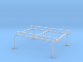 Crewhalf Rack in Smooth Fine Detail Plastic