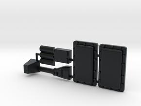 Morgan Oil Pan Plus for Y-Wing in Black Hi-Def Acrylate