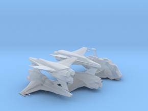 Viper Mk VII Wing (Battlestar Galactica), 1/270 in Smooth Fine Detail Plastic