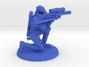 38mm SpecFor Sniper 3 in Blue Processed Versatile Plastic
