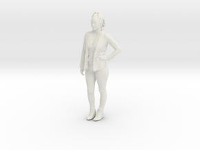 Printle C Femme 128 - 1/32 - wob in White Natural Versatile Plastic