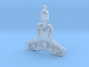 "Anhänger ""Buddha"" in Smooth Fine Detail Plastic"