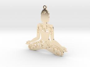 "Anhänger ""Buddha"" in 14K Yellow Gold"