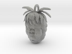 Pineapple Sour Face in Metallic Plastic