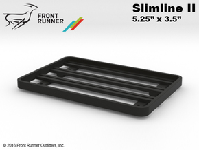 "FR10007 Front Runner Slimline II Rack 5.25"" x 3.5"" in Black Strong & Flexible"