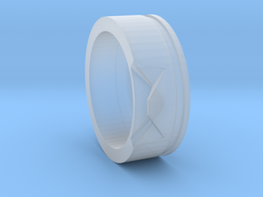 Edge Ring in Smooth Fine Detail Plastic
