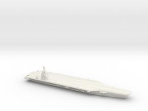 CVN-78 Gerald R. Ford, 1/3000 in White Natural Versatile Plastic