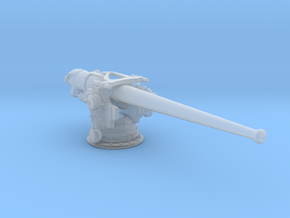 1/350 USN 5 inch 51 Deck Gun in Smooth Fine Detail Plastic