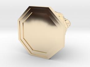 Fire Elemental in 14k Gold Plated Brass