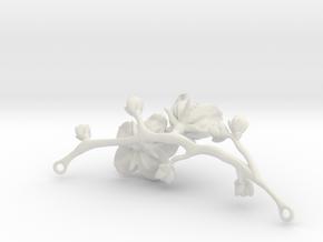 Cherry Necklace in White Natural Versatile Plastic
