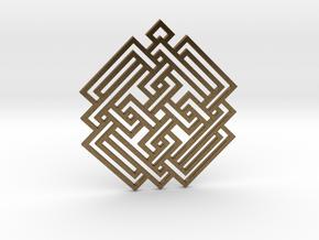 Celtic Knot / Nudo Celta in Natural Bronze